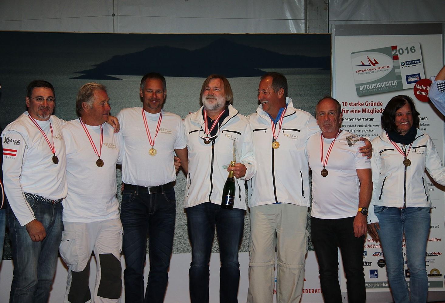 Österreichische Hochseemeisterschaft 2016 Crew